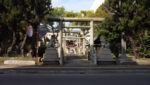 周辺景色(神社)